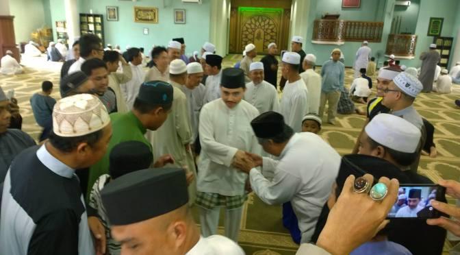 Prince Abdul Malik at Kg Katok Mosque